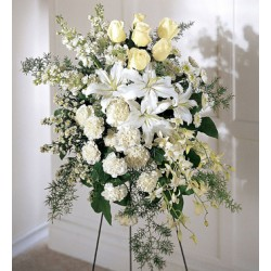 Funeral Flowers | Standing Spray Flowers | Toronto's Online Outlet