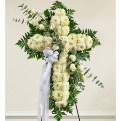 Funeral Cross Flowers | Toronto's Online Outlet