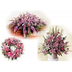 Quiet Tribute Floral (FFPK10)