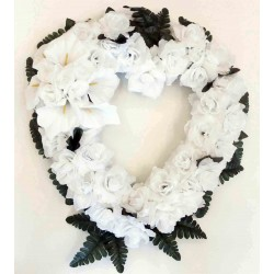 Heart Silk Flower (SFH6)