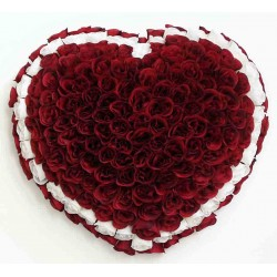 Heart Silk Flower (SFH1)