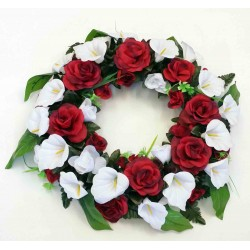 Wreath Silk Flower (SFW4)