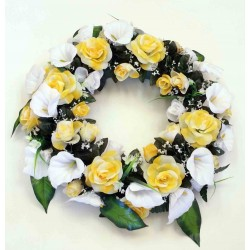 Wreath Silk Flower (SFW6)