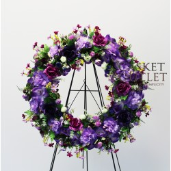 Wreath Silk Flower (SFW10)