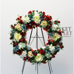 Wreath Silk Flower (SFW11)