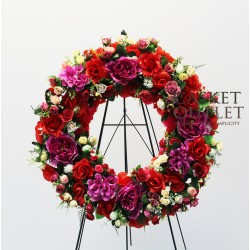 Wreath Silk Flower (SFW12)