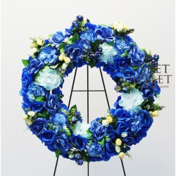 Wreath Silk Flower (SFW15)