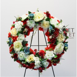 Wreath Silk Flower (SFW17)