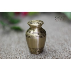 Metal Keepsake Urn (FM0525-KB)