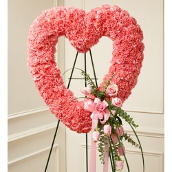 Funeral Heart Flowers | Toronto's Online Outlet
