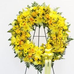 Bright Land wreath flower (FFW50)