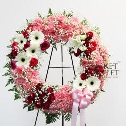 Her Hands Wreath Flower (FFW51)