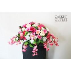 Saddle Flower, Cemetery Flower, Headstone Flower