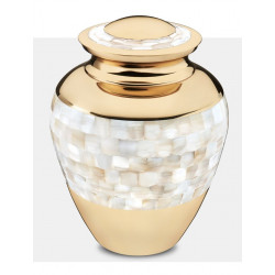 Mother of Pearl Urn (FM0905)