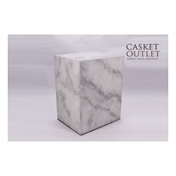 Ziyarat White Marble Urn (FS0621)