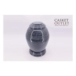 Black Blue Marble Urn (FS0633)