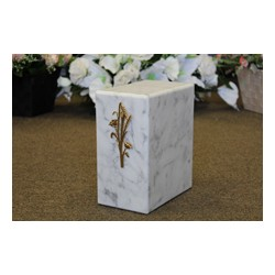 Athos White Marble Urn (FS0710-W)