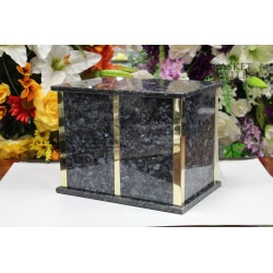 Blue Peral Marble Urn (FS0706-BP)