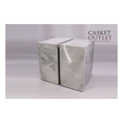 White Granite Companion Urn (FS0636-W)