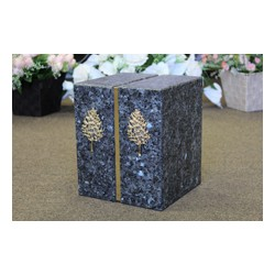 Blue Pearl Granite Companion Urn (FS0712-BP)