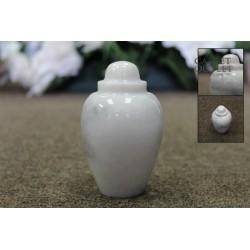 Stone Keepsake Urn (FS0619-W-K)
