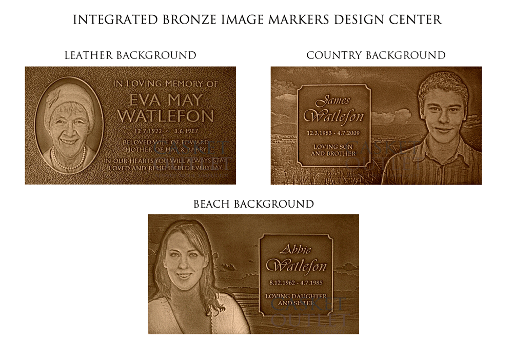 bronze marker, bronze marker image photo