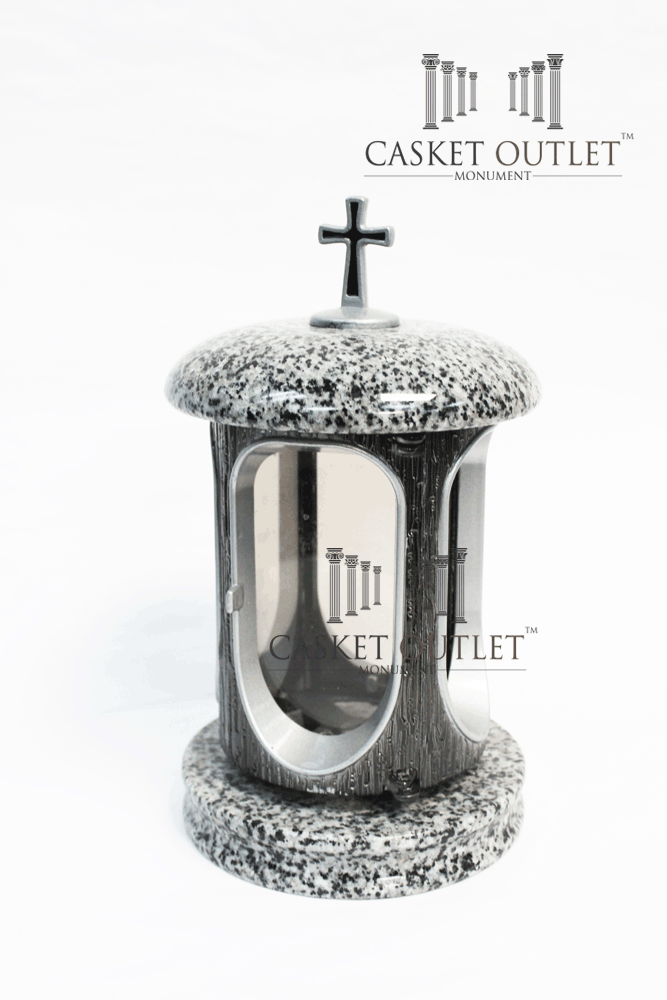 Cemetery Lantern,Gray Granite Stone Lantern